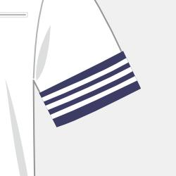 夏服半袖(カフス付き)