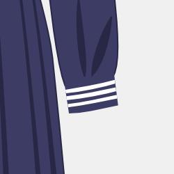 冬服長袖(カフス付き)